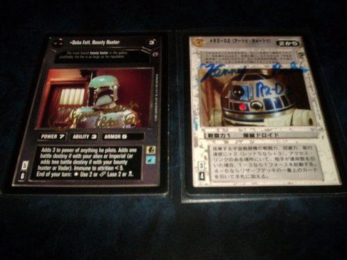 スター・ウォーズ コレクションカードゲーム サイン