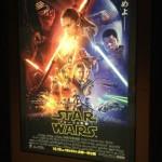 映画館で『スター・ウォーズ/フォースの覚醒』ポスター&チラシが掲出中!
