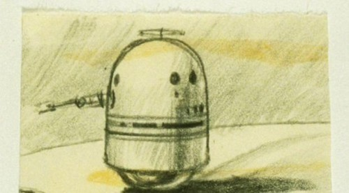ラルフ・マクウォーリー コンセプトアート BB-8