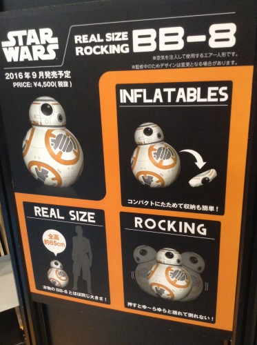 REAL SIZE ROCKING BB-8