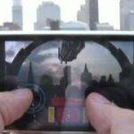 拡張現実アプリゲームFalcon Gunner