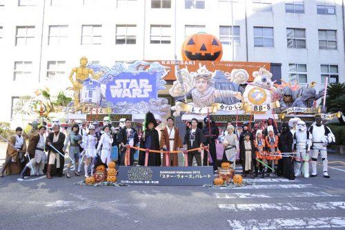 カワサキ ハロウィン スター・ウォーズ パレード