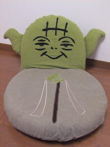 ヨーダ 座椅子 ベルメゾン