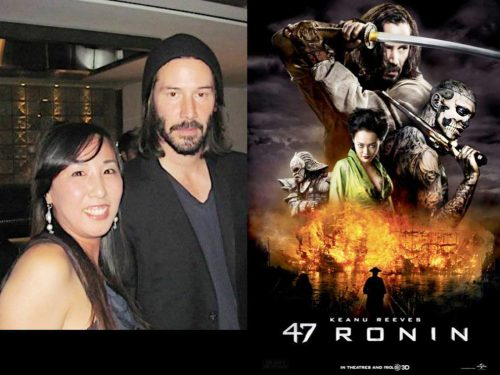 47ronin 打ち上げ with Keanu Reeves