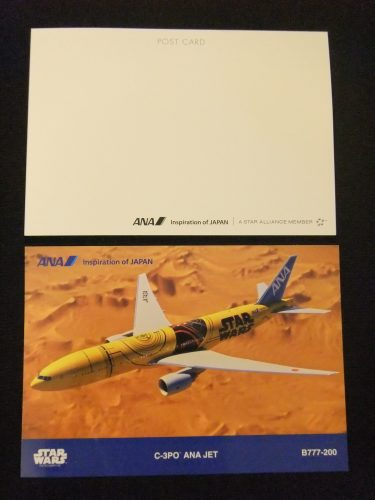 C-3PO ANA JET スター・ウォーズ ポストカード
