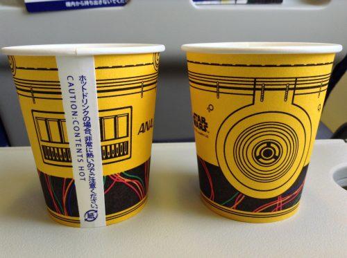 C-3PO ANA JET スター・ウォーズ 紙コップ