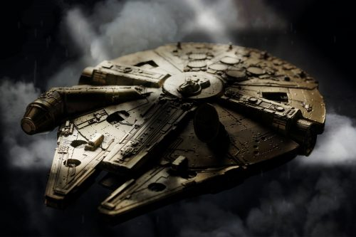 Royal Selangor Star Wars Millennium Falcon gold 40th Anniv
