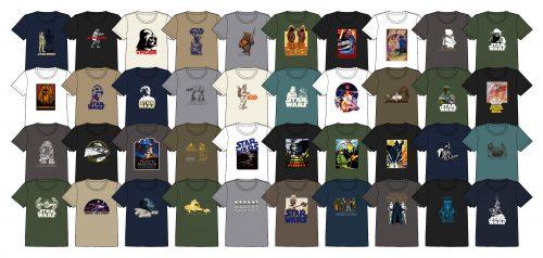 スター・ウォーズ ポスターコレクション Tシャツ