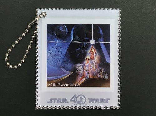 東京中央郵便局限定 スター・ウォーズ40 周年記念アクリルキーホルダー