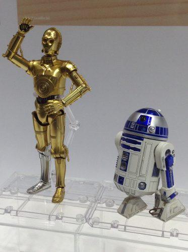 S.H.フィギュアーツ C-3PO R2-D2 A NEW HOPE