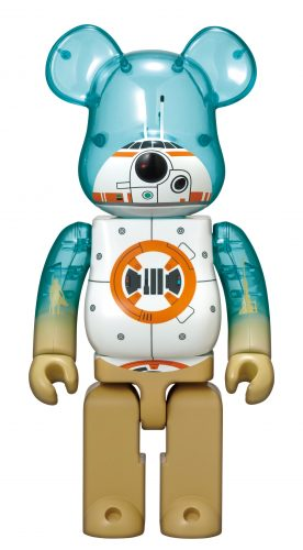 """Happyくじ STAR WARS BE@RBRICK 特賞 BB-8"