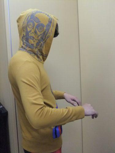なりきりミニ裏毛パーカ C-3PO