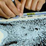 『スター・ウォーズ』公式SNS掲載の『最後のジェダイ』切り絵を作った日本人アーティスト・芝浦さんにインタビュー!