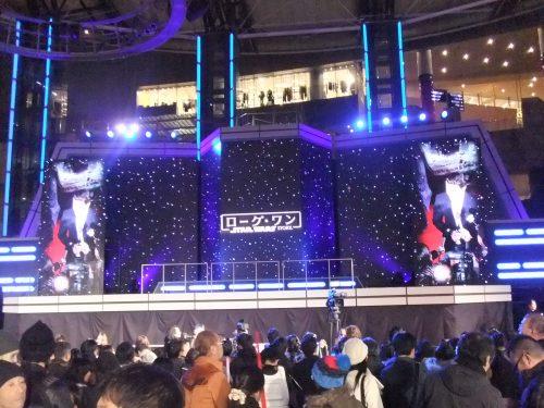 ローグ・ワン スター・ウォーズ・ストーリー レッドカーペット イベント