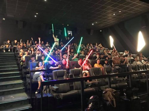 Star Wars charity movie event Hong Kong