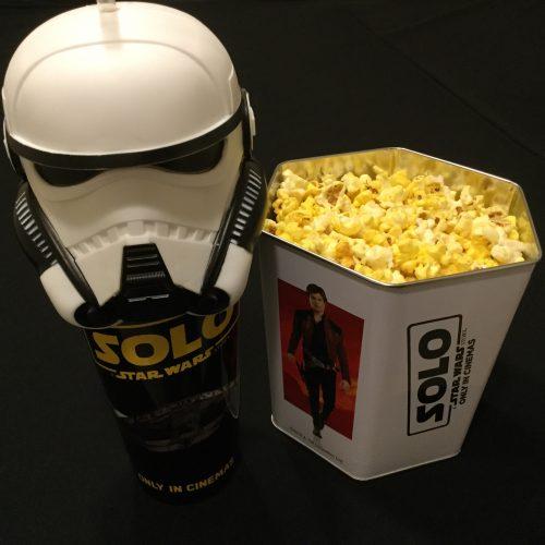 ハン・ソロ スター・ウォーズ・ストーリー ポップコーンBOX ドリンクカップ