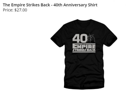 スター・ウォーズ 帝国の逆襲 40周年