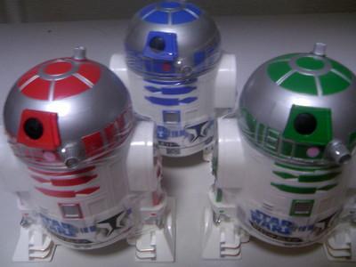 スター・ウォーズ R2ユニット ガムポット
