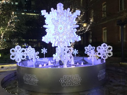 STAR WARS Marunouchi Bright Christmas 2019