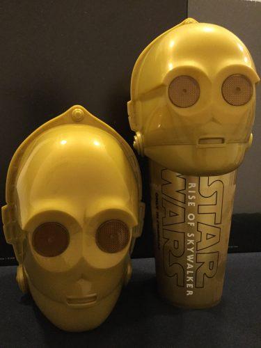 スター・ウォーズ/スカイウォーカーの夜明け ポップコーン ドリンクカップ C-3PO