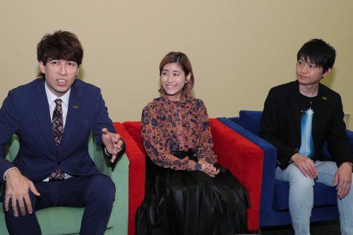 SWDXクイズ大会②(左から サッシャさん、IMALUさん、藤井さん)