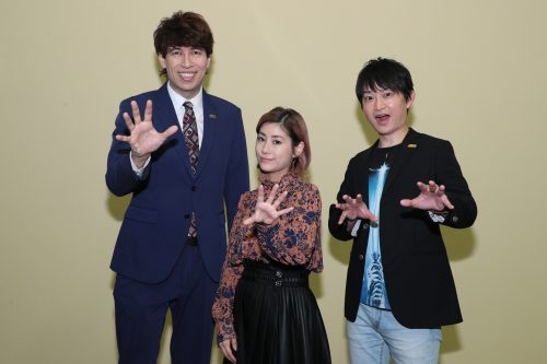 SWDXクイズ大会①(左から サッシャさん、IMALUさん、藤井さん)