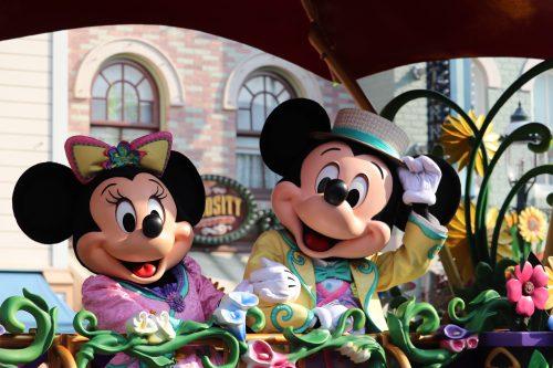 香港ディズニーランド ミッキーマウス ミニーマウス