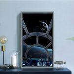 「Atmoph Window 2 Star Wars」のある生活が体験出来るVR映像公開!ミレニアム・ファルコンデザインの窓枠デコレーションも